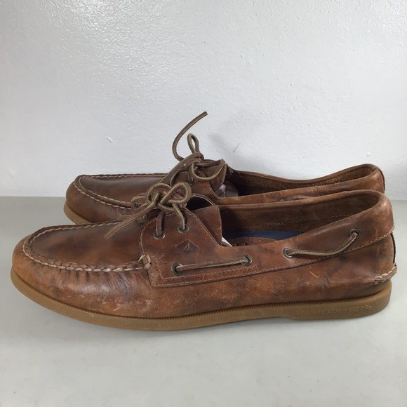 Sperry Shoes | A2eye Orleans Boat Brown
